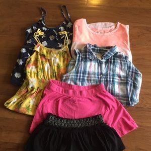 Lot of girls clothing. Kids size 14/16 large